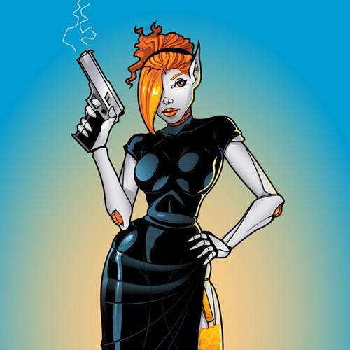 Naomi Character Design
