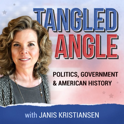 The cover art of a podcast about politics, government, and American history