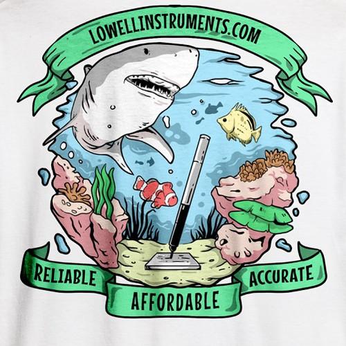 Sealife Tshirt Design