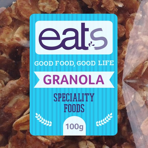 good food, good life…create the right product label for eats
