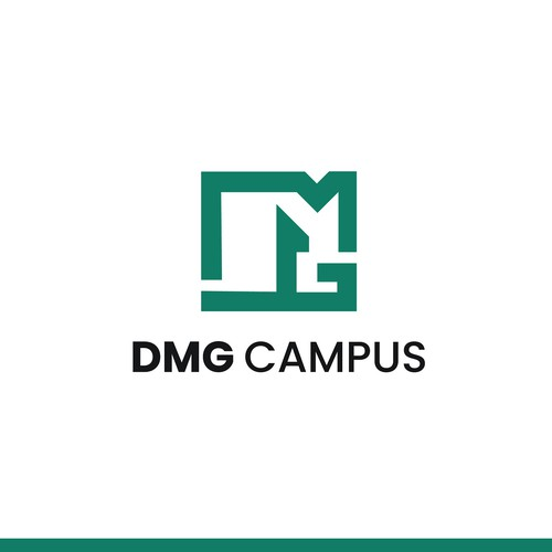 Concept Logo design for DMG Campus