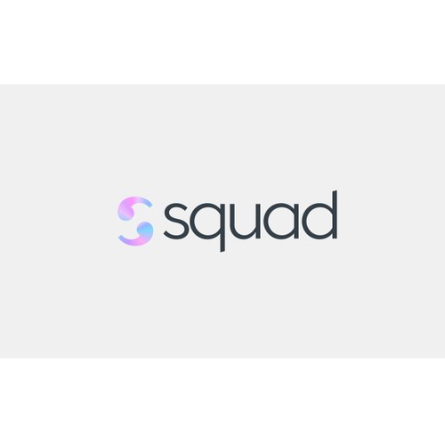 Fashionable good-looking startup looking for soulmate trendy Logo.