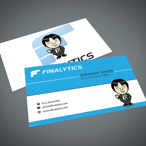 Business Card for Financial Consulting Company