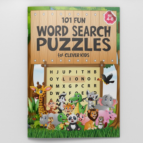 101 FUN WORD SEARCH PUZZLES FOR CLEVER KIDS