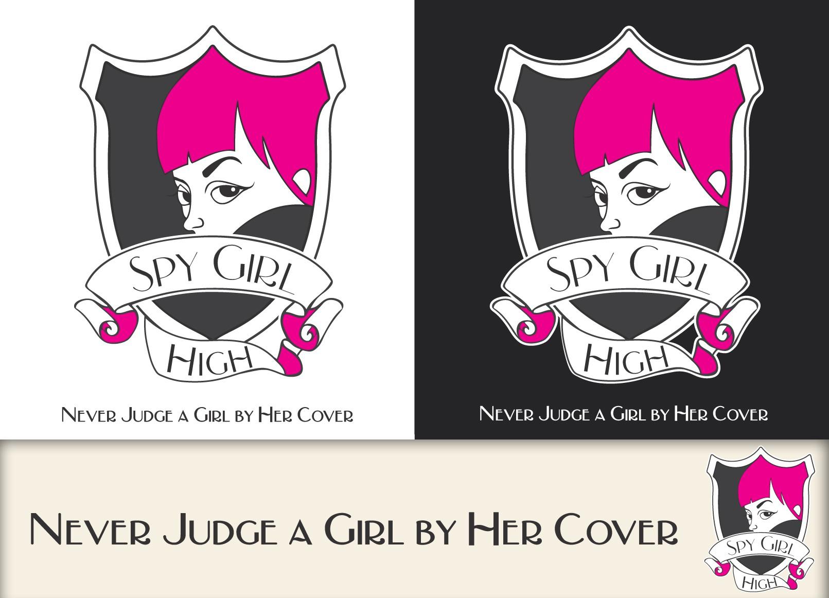 """""""Spy Girl High"""" Logo - Covert Spy School for Kids!!"""