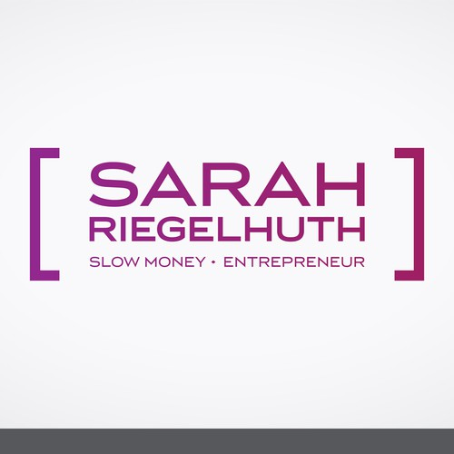 Logo concept for Sarah Riegelhuth