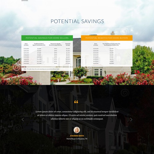 New site for a fixed-cost real estate brokerage firm