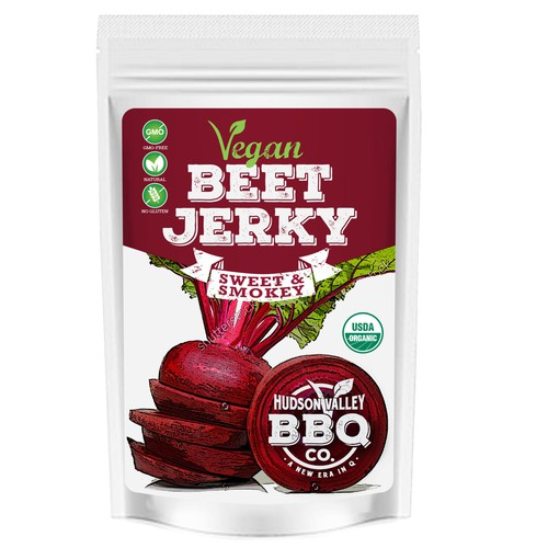Vegan Beet Jerky