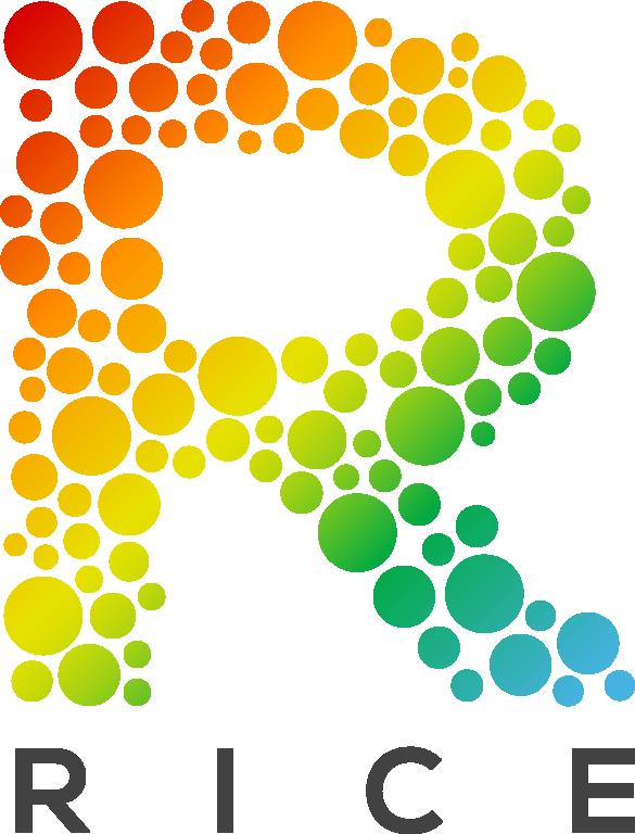 Create an inspiring logo for RICE
