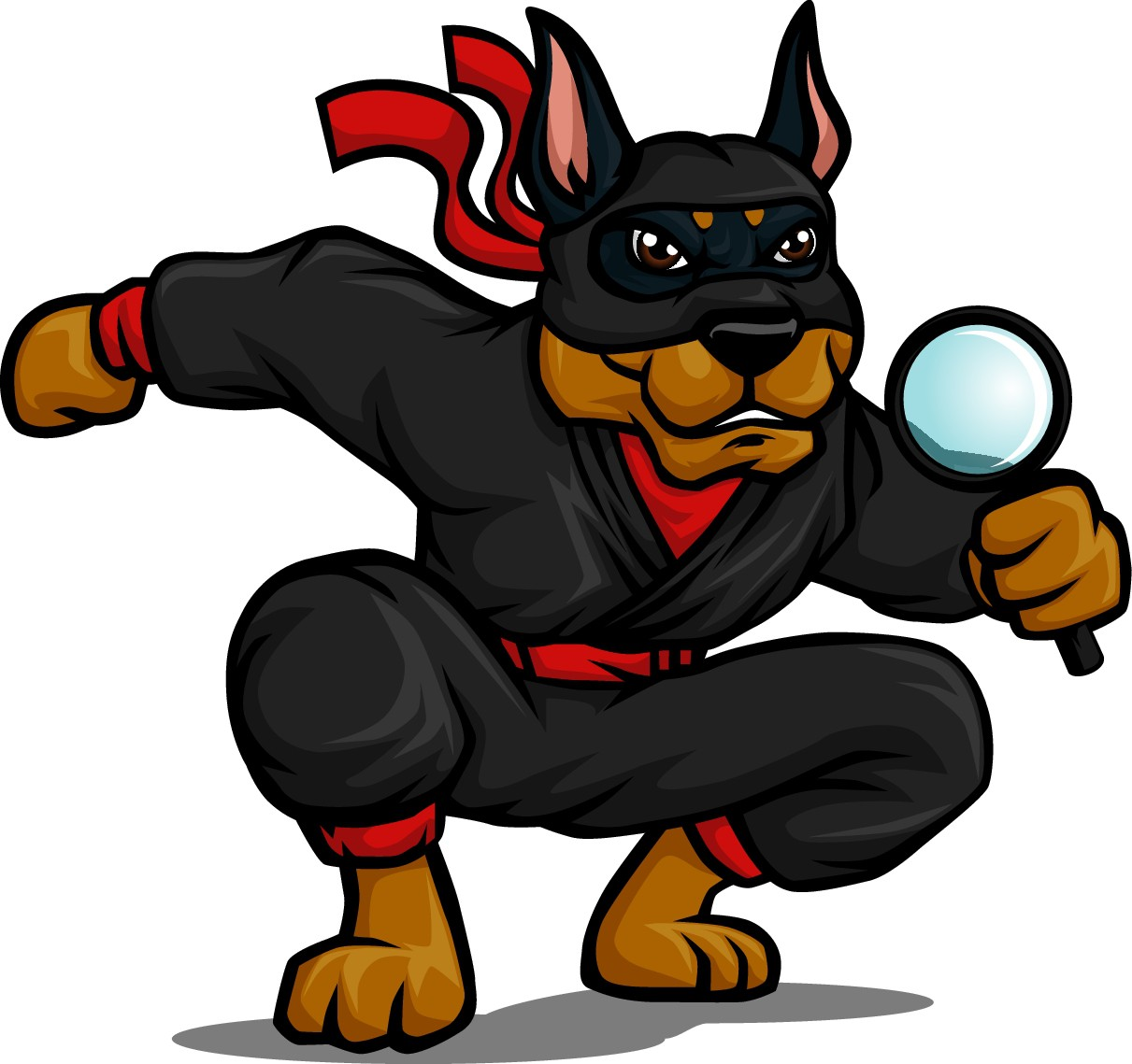 Ninja version of Autopsy dog