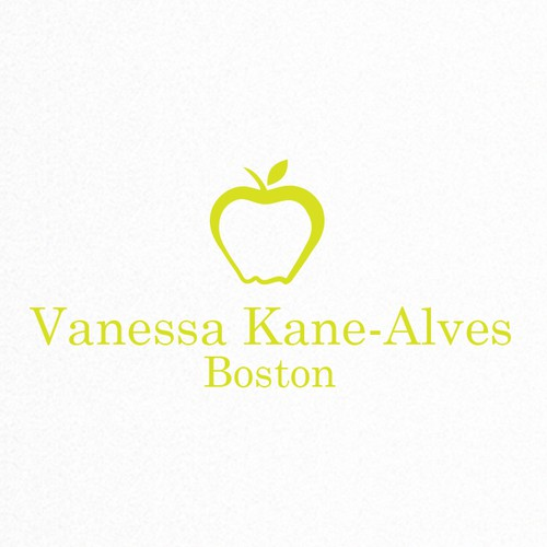 Create a kate spade inspired logo for a nutrition therapist helping girls and women