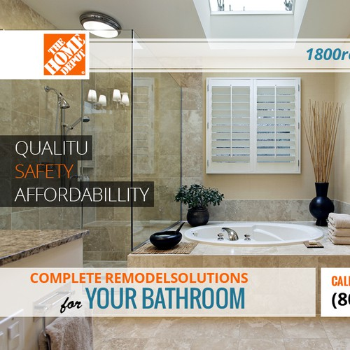 **GUARANTEED** Unique Large Bathroom Remodeling Promo Ad Needed (800x600)