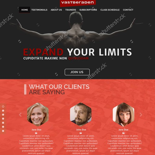 Crossfit Gym Wordpress Theme