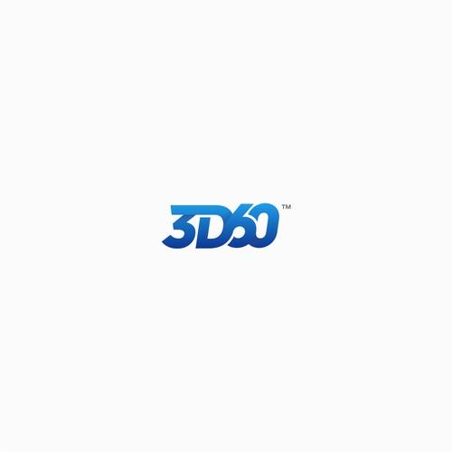A modern Wordmark logo for 360D