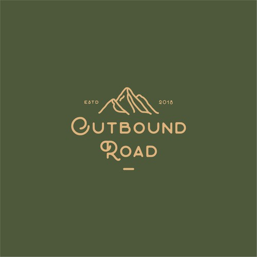 Outbound Road logo design