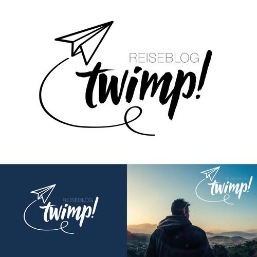 Luftiges Reiseblog Logo für zwei Traveller