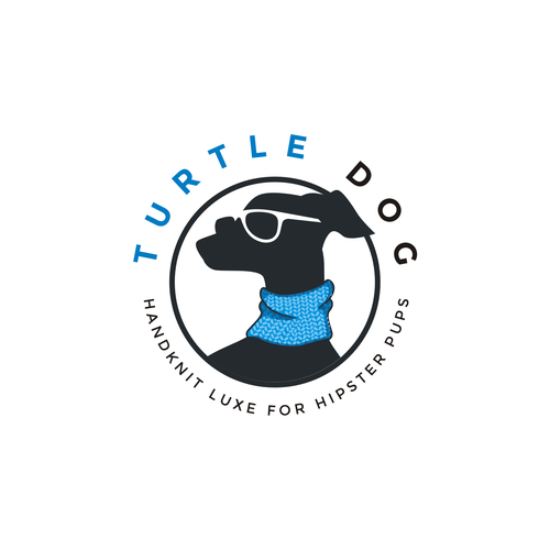 Logo for a luxury gators for dogs