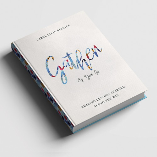 Book Cover Design for 'Gather As You Go'