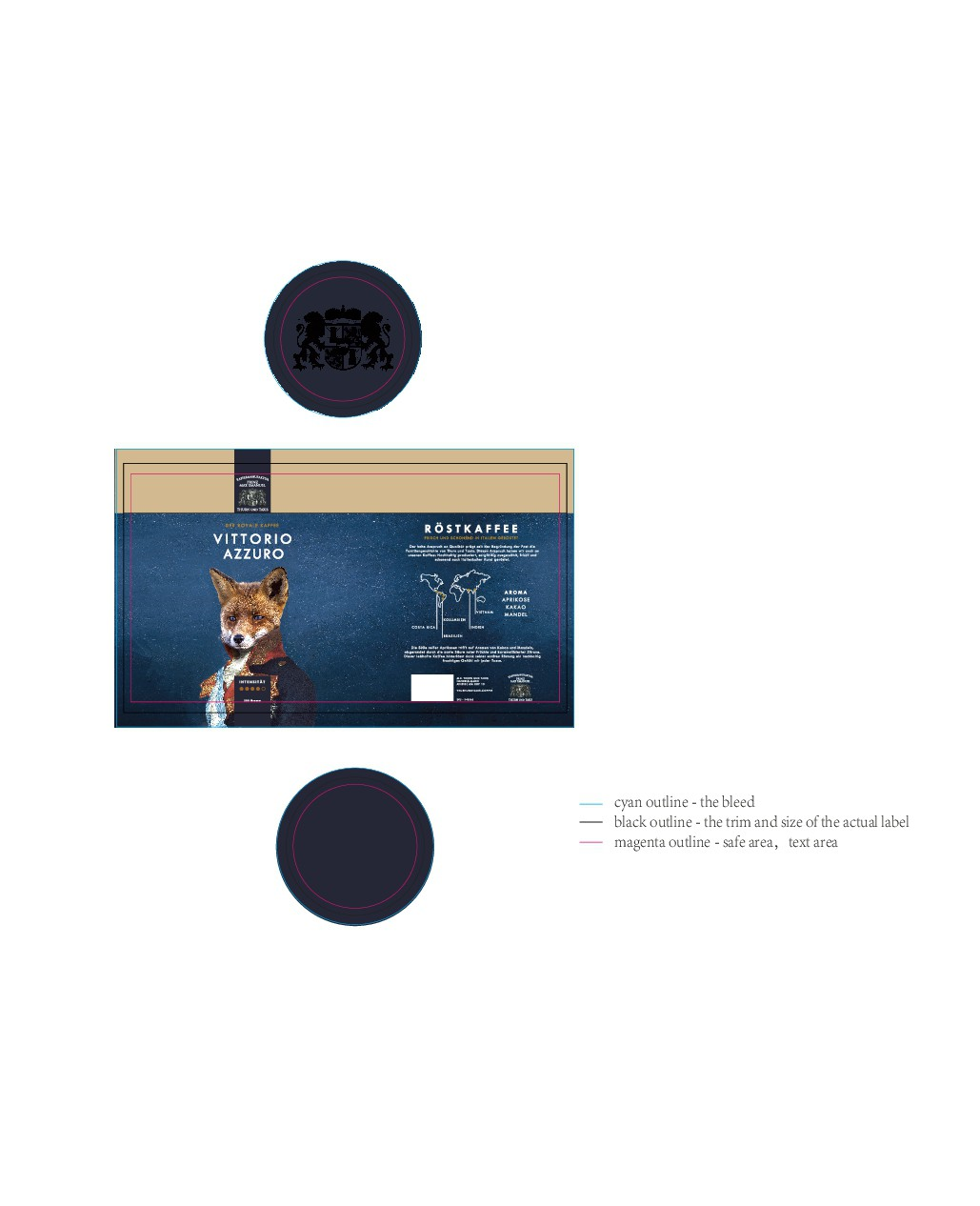 Animal Coffee Labels