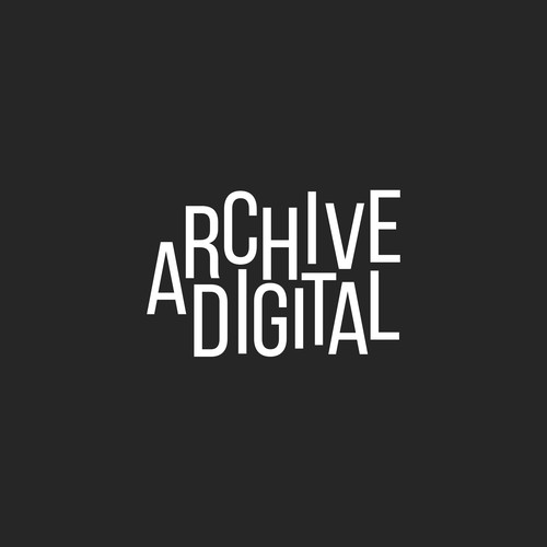 Typographic Logo for Archive Digital