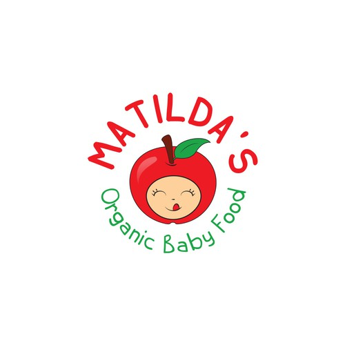 Logo for a new baby food company
