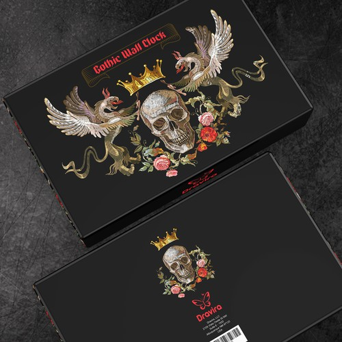 Gothic Clock Packaging Design