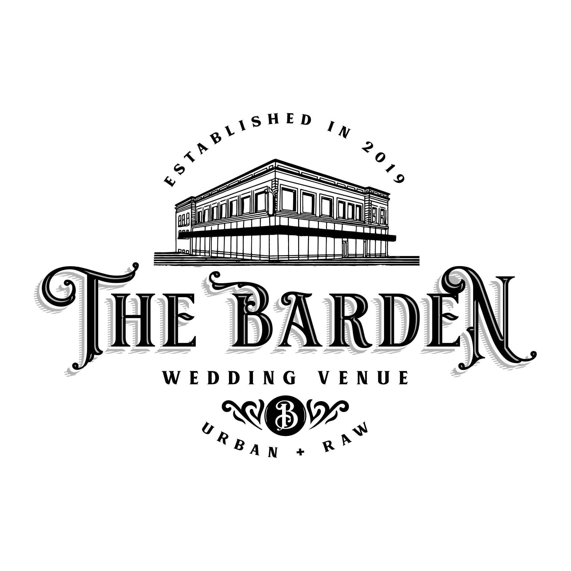 Design an urban, raw and sophisticated logo/brand pack for the historic Barden wedding & event venue