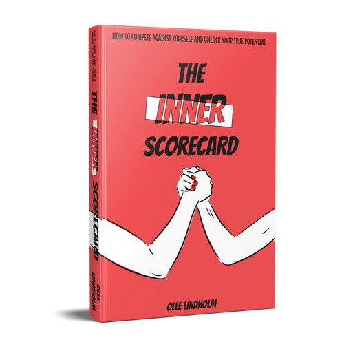 Book cover 'INNER SCORECARD - How to compete against yourself'