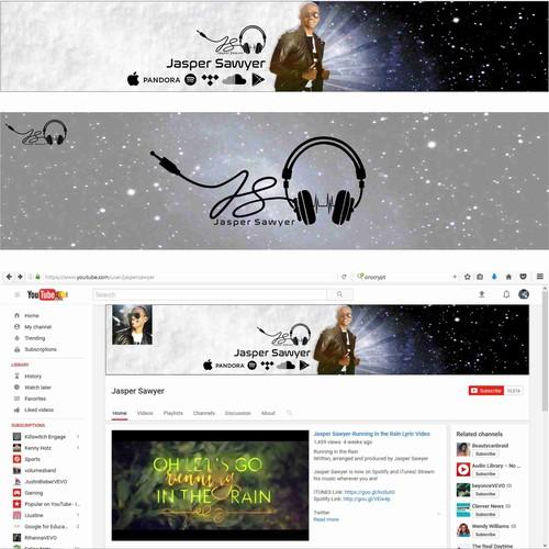 Logo & Cover Youtobe Jasper Sawyer