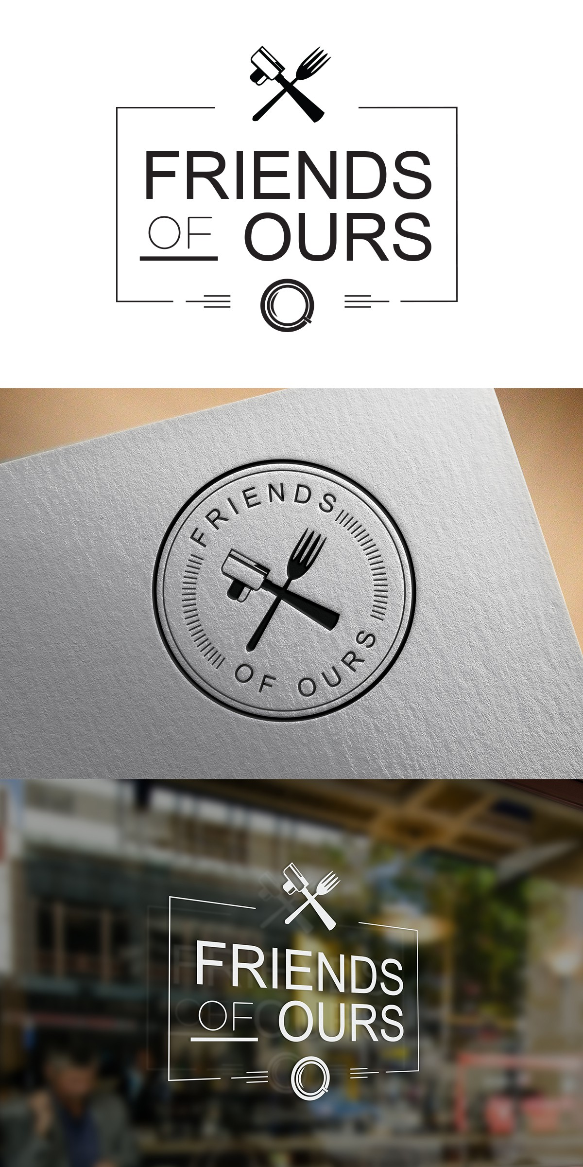 Logo design for a brand new coffee shop / casual dining spot in London