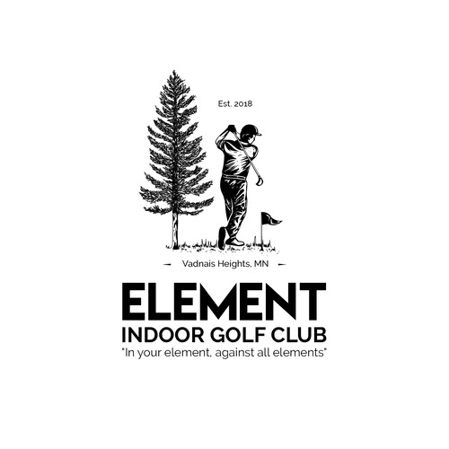 Logo concept for Indoor Golf