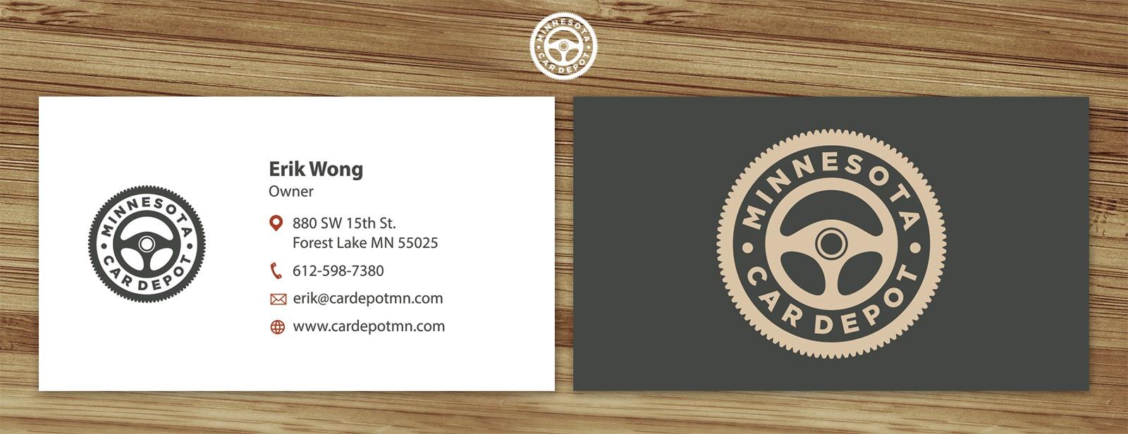 Help us make an awesome car dealership logo for Minnesota Car Depot