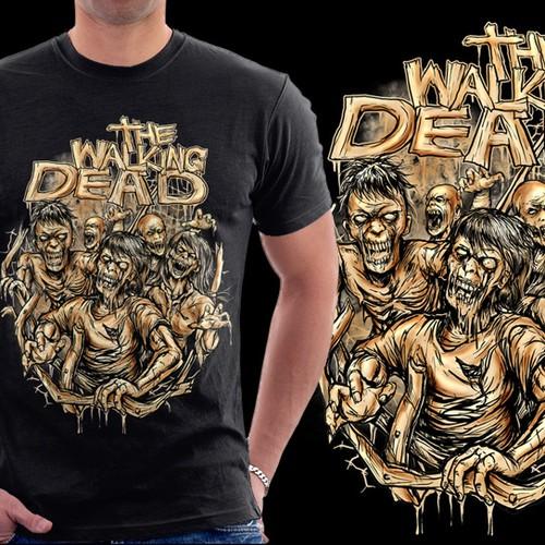 The Walking Dead tee