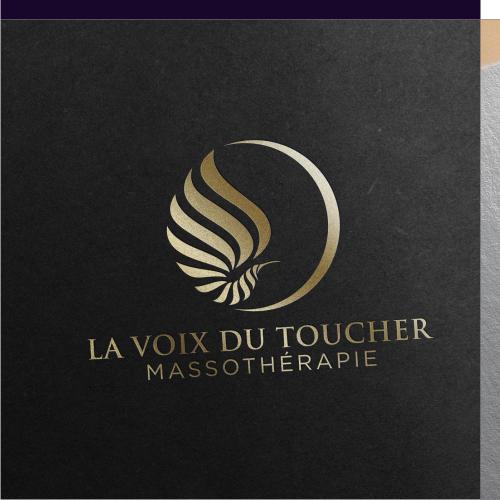 Logo Design La Voix Du Toucher
