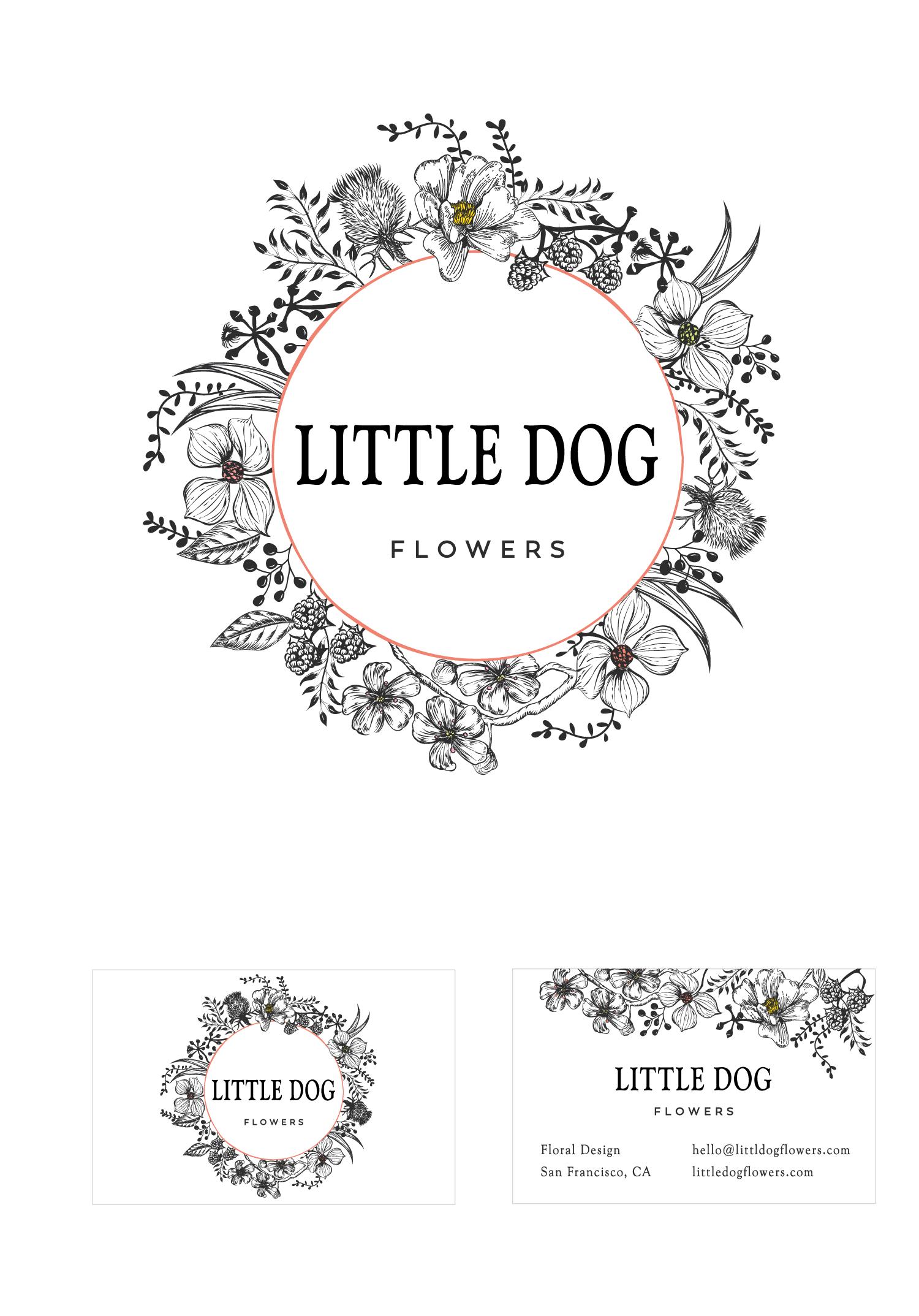 Little Dog Flowers