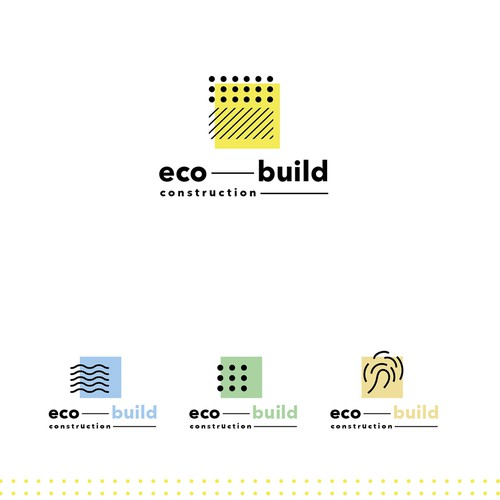 Logo for eco building company