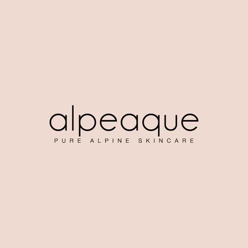 Logo concept for alpeaque.