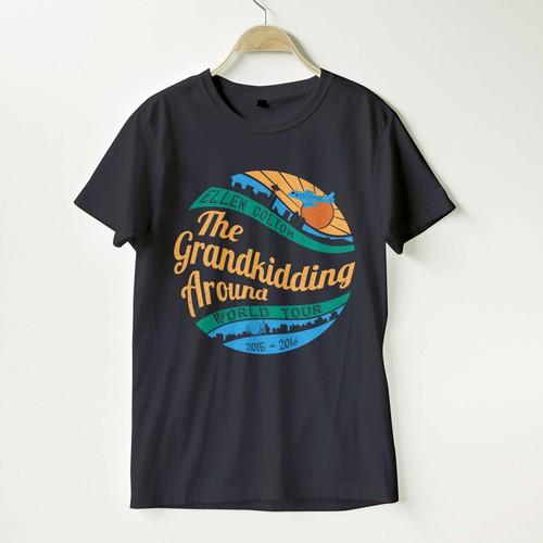 World Tour Concert Tshirt for Grandma