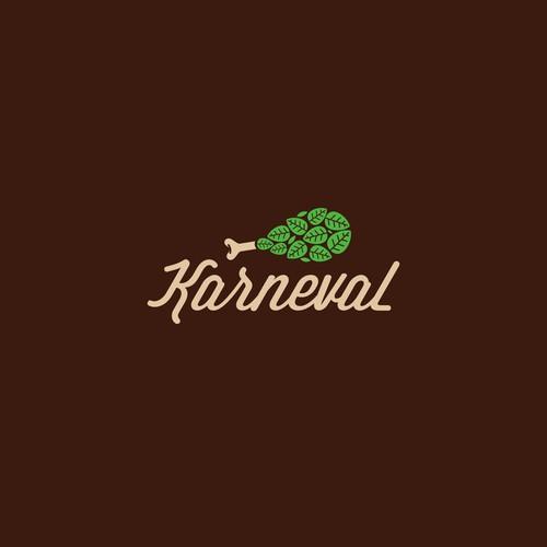 smart logo concept for Karneval