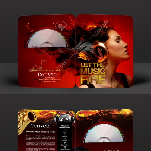 Design a Mixed CD Promotional Package