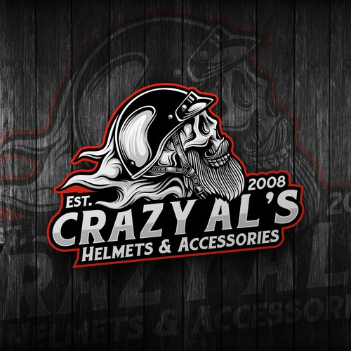 Final design for Crazy Al's