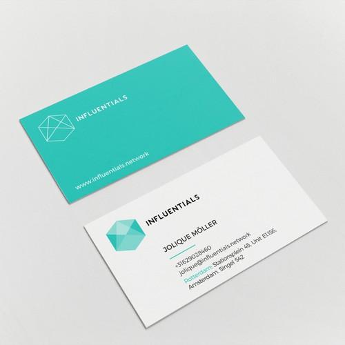 Influencer Marketing Platform Business Card
