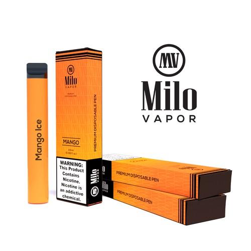 Logo & Packaging Design for a Vape Product
