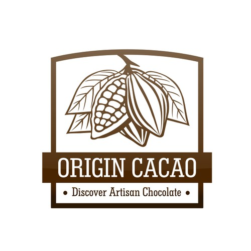 Create the next logo for Origin Cacao