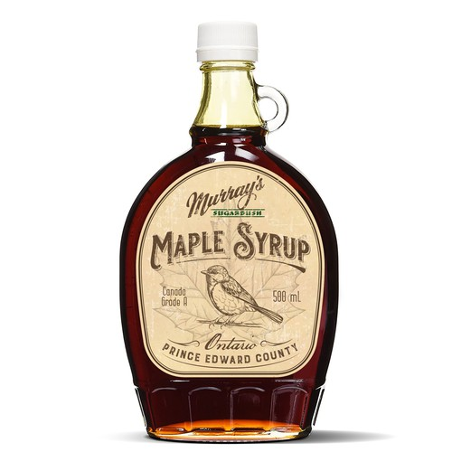Murrays' Sugarbush Maple Syrup label