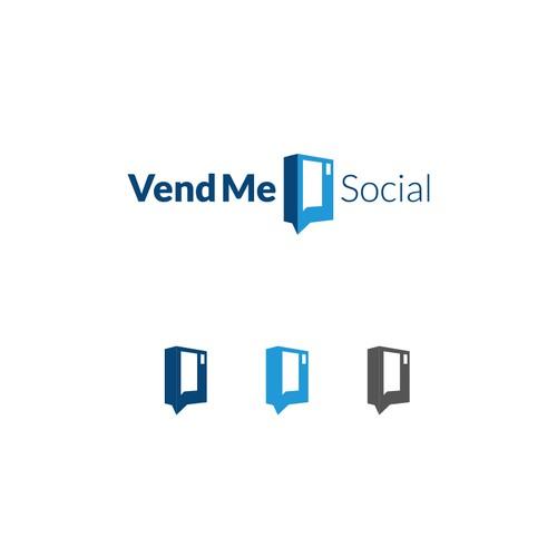 Creative Logo for Vend me social