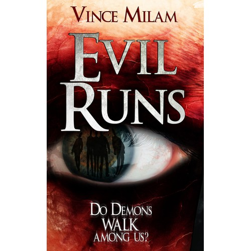 Create an e-book cover for a supernatural thriller/mystery novel