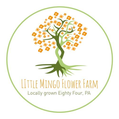 Logo für Little Mingo Flower Farm