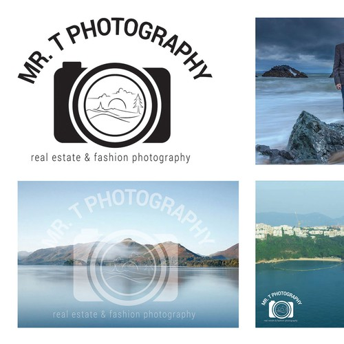 Bold Logo for photography