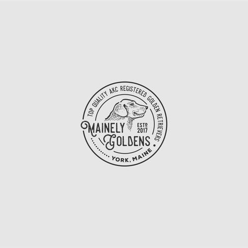 Mainely Golden Logo